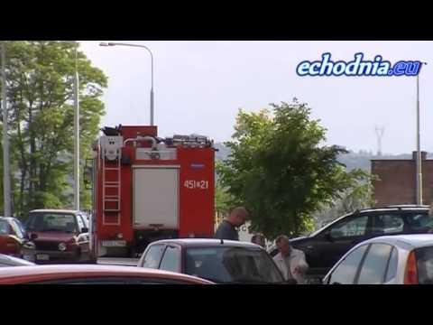 Trzy jednostki straży pod blokiem i spalony garnek w koszu - 29 maja 2013r.Realizacja i montaż: Rafał Soboń