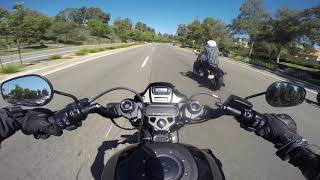 6. Speeding And Racing On A 2019 Harley Davidson FXDR 114