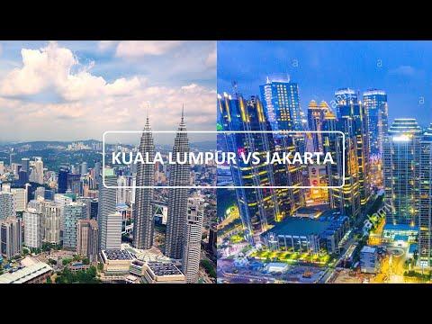 JAKARTA VS KUALA LUMPUR (SKYLINE 2020)