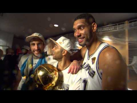 big 3 - Go behind the scenes as Tim Duncan, Tony Parker, and Manu Ginobili celebrate the 2014 NBA Championship. Visit nba.com/video for more highlights. About the NB...