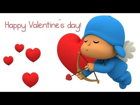 happy valentines day with pocoyo - Valentines Day Videos