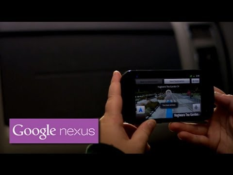 Nexus S with Google Maps Navigation