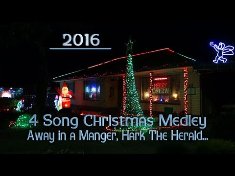 ryanschristmaslights - 4 Song Christmas Medley by Various Artists