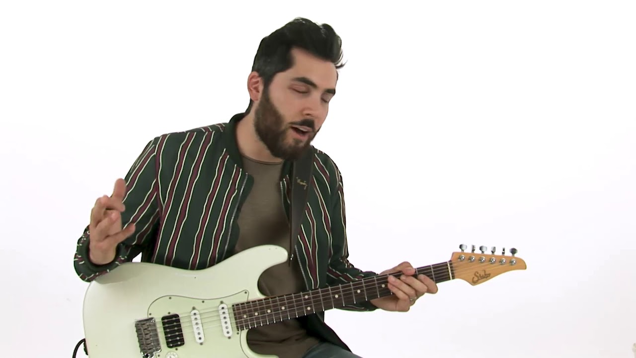 🎸Ariel Posen Guitar Lesson – Donuts F#m Blues: Breakdown – The Electric Storyteller