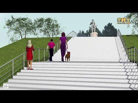 Ремонт памятника Блюхера (видео)