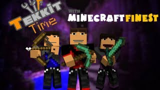 Minecraft: Tekkit Time w/ MinecraftFinest Ep. 2 - Big Hole!