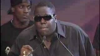 Notorious B.I.G. acceptance speech