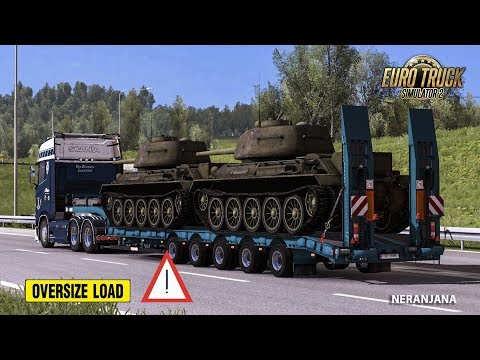 Chris45 Trailers Pack v9.12 for ETS2 1.33.x