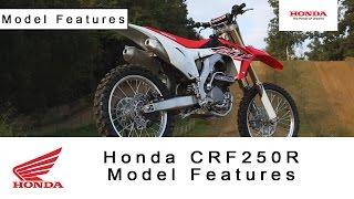 9. Honda CRF250R - Model Features