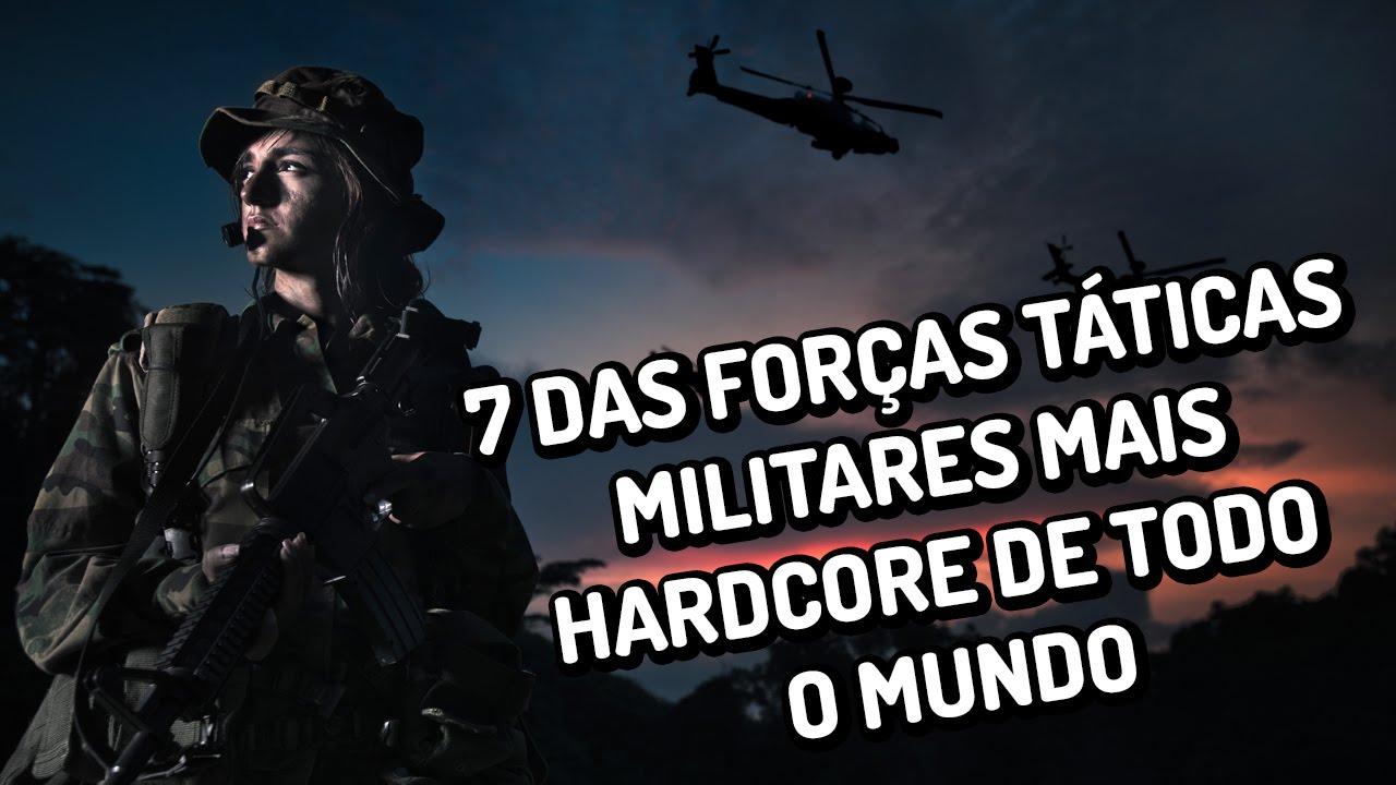 7 das forças táticas militares mais hardcore do mundo