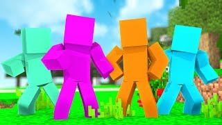 *4 Player* 100 vs 100 vs 100 vs 100 Clay Soldiers DIMMAdome - Minecraft Modded Minigame | JeromeASF