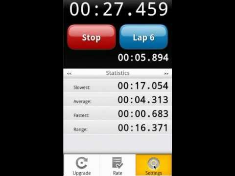 Video of Stopwatch