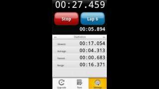 LapStar Stopwatch YouTube video