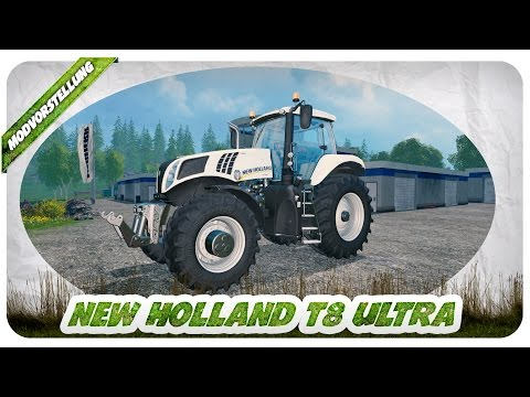 New Holland T8 Ultra white v1.31