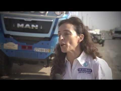 Elisabete Jacinto no Rali de Marrocos