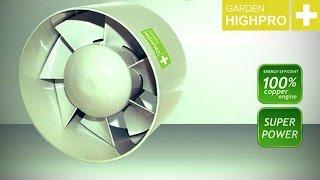 ProFan Axial In Line Fan 125mm/20W/190m3