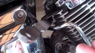 3. Removing Yamaha V Star 1100 Custom AIS System