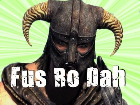 fus - Facebook: https://www.facebook.com/soFallenfilms Fus Ro Dah Compilation The Elder Scrolls: Skyrim.
