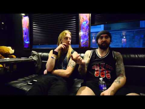 Dragonforce video interview - London Music Hall, Canada - November 26th, 2015