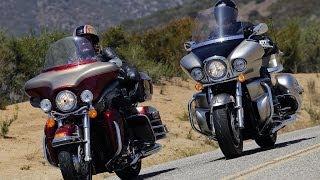 5. 2009 Harley-Davidson Electra Glide vs Kawasaki Vulcan - MotoUSA