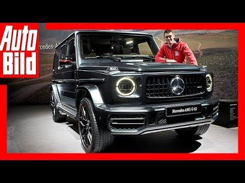 Mercedes-AMG G 63 (Genf 2018) Details/Erklärung 585 PS  ...