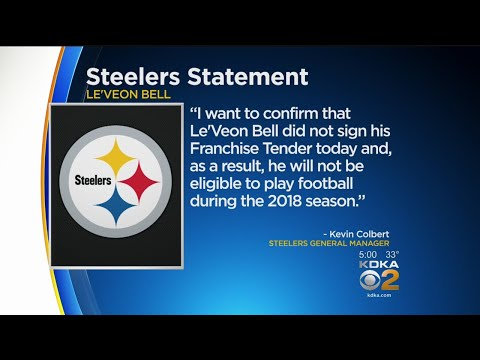 Deadline Passes, Le'Veon Bell Does Not Report To Pittsburgh Steelers