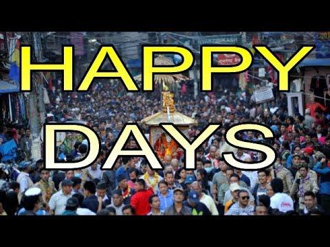 (   Happy Days    ह्याप्पी डेज'को रथ यात्रा हुने     Priyanka Karkid... 2 min 1 sec)