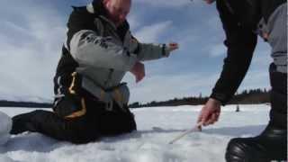 Рыбалка в Швеции, Сторуман - зима (часть 1/2)  / Ice Fishing, Sweden