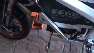 3. Montaje instalación motor moto eléctrica ZERO. Video 5 de 5. Modelos 2010 y 2011 (S y DS).
