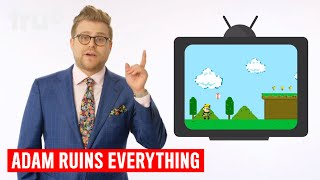 Adam's favorite childhood pastime is one he still fully embraces to this day. Subscribe: http://full.sc/1s9KQGeWatch Full Episodes for Free: http://bit.ly/1Rw2yzpCheck Adam's Sources: http://bit.ly/1Q7MHpK In Adam Ruins Everything, host Adam Conover employs a combination of comedy, history and science to dispel widespread misconceptions about everything we take for granted. A blend of entertainment and enlightenment, Adam Ruins Everything is like that friend who knows a little bit too much about everything and is going to tell you about it... whether you like it or not. truTV Official Site: http://www.trutv.com/Like truTV on Facebook:  https://www.facebook.com/truTVFollow truTV on Twitter: https://twitter.com/truTVFollow truTV on Tumblr: http://trutv.tumblr.com/Get the truTV app on Google Play: http://bit.ly/1eYxjPPGet the truTV app on iTunes: http://apple.co/1JiGkjhWay more truTV!  Watch clips, sneak peeks and exclusives from original shows like Comedy Knockout, Those Who Can't and more – plus fresh video from hit shows like Impractical Jokers and The Carbonaro Effect.Adam Ruins Everything - Adam's Favorite Toys (Ask Adam)  truTV
