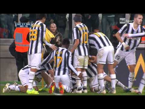 Marchisio gol – Juventus – Bologna 2 – 1 Coppa Italia