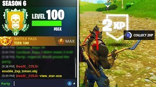 our LEVEL UP FAST SECRETS in Fortnite Season 6 REVEALED! Unlock Max Dire Tier 100 BattlePass Fastest