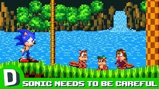 Why Sonic the Hedgehog Should Be Careful Who He Attacks
