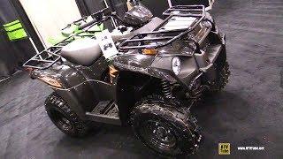 10. 2019 Kawasaki Brute Force 300 Recreational ATV - Walkaround - 2018 Toronto ATV Show