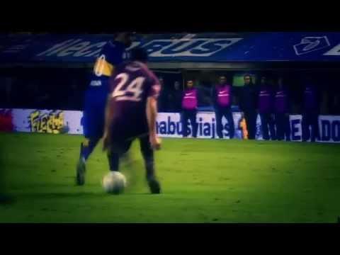 Video Juan Roman Riquelme tremendo ca�o sin tocar la pelota