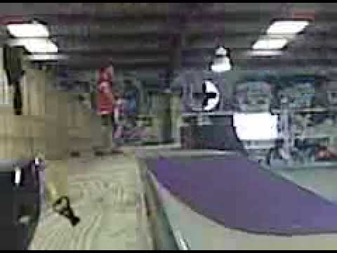 Veronica Taylor skateboarding at Red Bearing skate park Dothan, AL