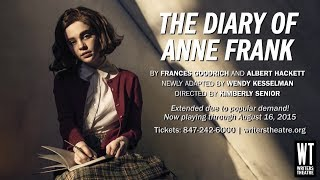 Writers Theatre - The Diary Of Anne Frank