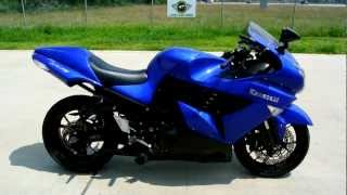 7. 2006 Kawasaki ZX14 Ninja Candy Thunder Blue: Overview and Review
