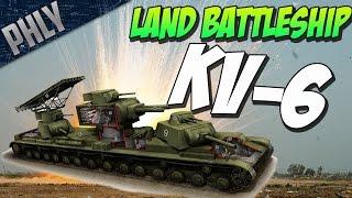 START PLAYING!! Download War Thunder NOW! - http://tinyurl.com/PhlyThunder SOVIET SUPER TANK - KV-6 - War Thunder...
