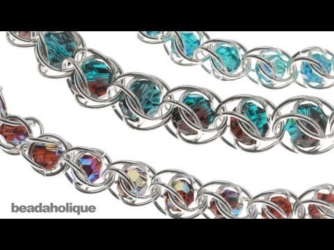 (Beadsmith) How to Do Captured Bead Chain Maille