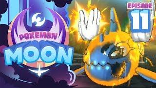 TOTEM POKEMON AMBUSH!! - Pokemon Sun and Moon Playthrough (Episode 11) by Tyranitar Tube