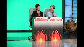 Video Kris Jenner Answers 'Ellen's Burning Questions' MP3, 3GP, MP4, WEBM, AVI, FLV Maret 2019