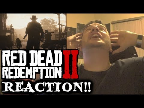 Red Dead Redemption 2 Official Gameplay REACTION!!