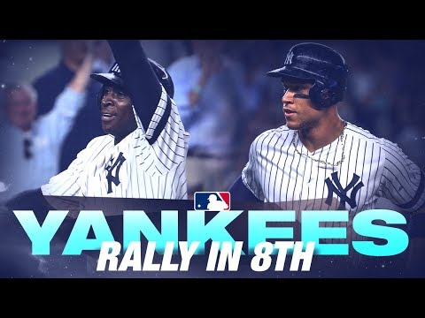 Video: Yankees rally in the 8th against the Rays!