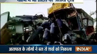 Khandwa India  city photos : 22 dies after bus collides with a truck at Khandwa in MP | India Tv