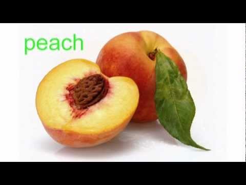 Engleza pentru incepatori. Fructe.