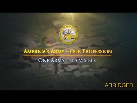 One Army, Indivisible Theme Video (Abridged) Video Screenshot