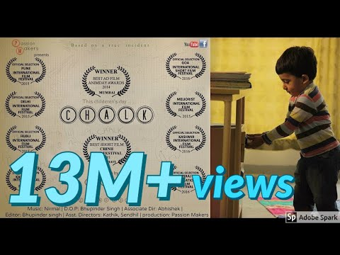CHALK - (2 minutes) Cute short film short film