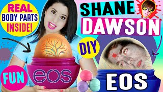 DIY Shane Dawson EOS Lip Balm | How To Turn Shane Dawson Into An EOS | Ft. Shane Dawson by GlitterForever17