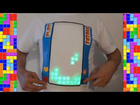 la maglietta per giocare a tetris!